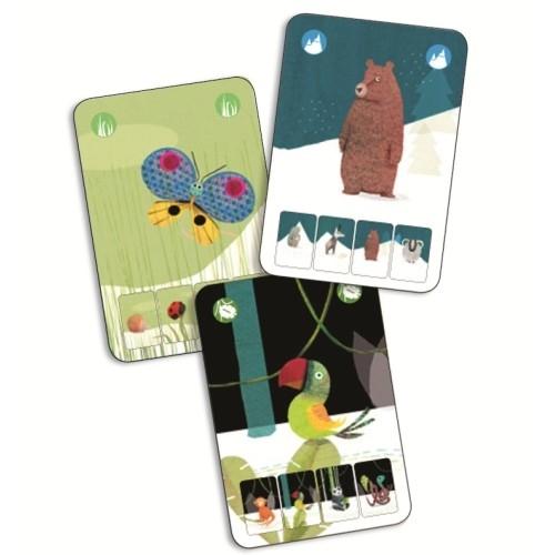 Joc de cărți Djeco Mininatura 1