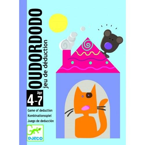Joc de cărți Djeco Oudordodo 0