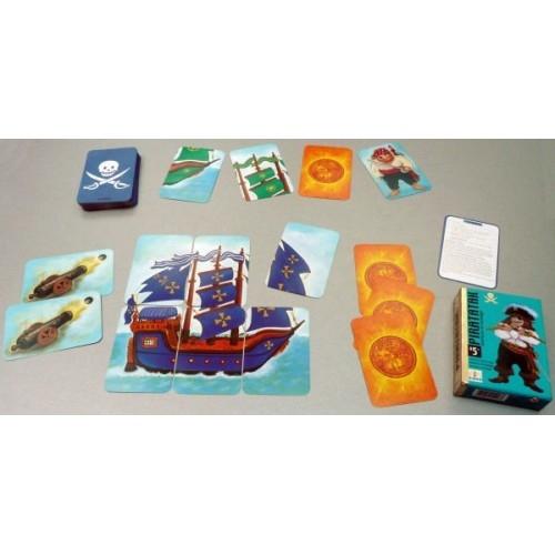 Joc de cărți Djeco Piratatak 3