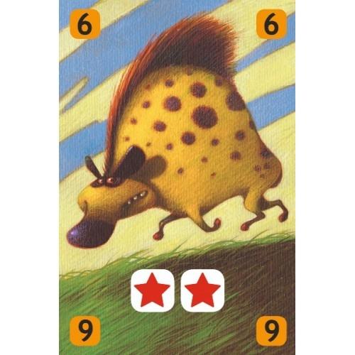 Joc de cărți Djeco Savana 3