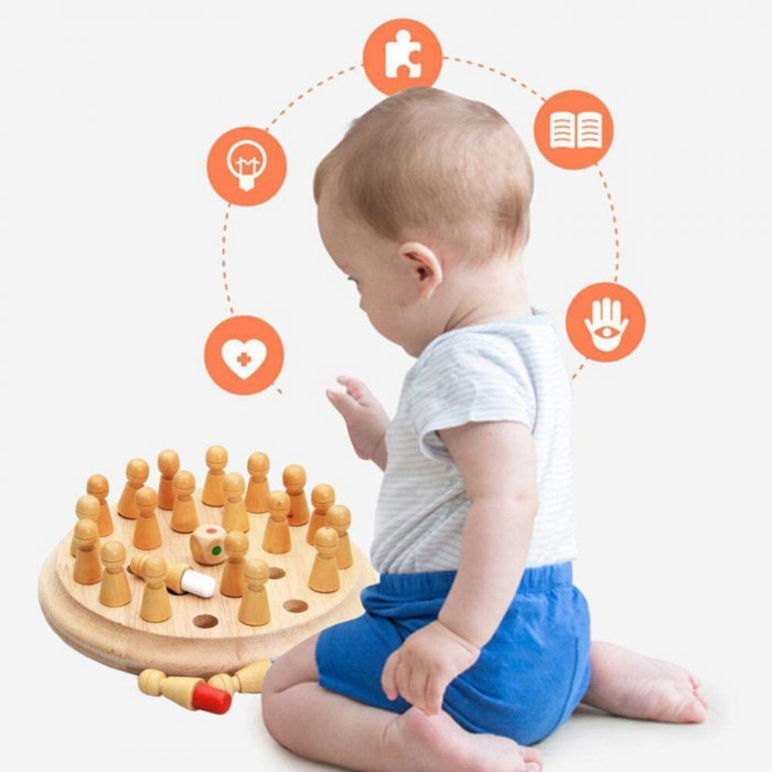 Joc de memorie pentru copii - Montessori [7]