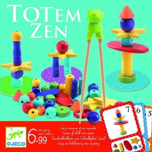 Joc de îndemânare Totem zen Djeco 0