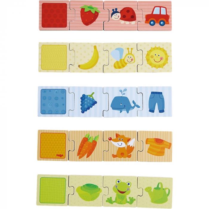 Joc de potrivire de tip puzzle: Culorile -  Haba 4