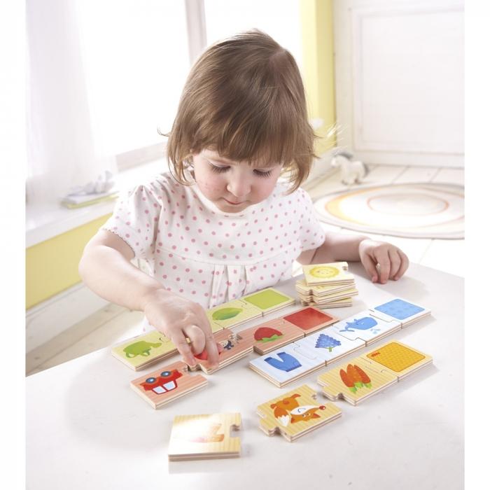 Joc de potrivire de tip puzzle: Culorile -  Haba 1