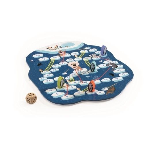 Joc de strategie Pinguini pe gheață Djeco [1]