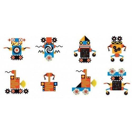 Joc magnetic Kinoptik Djeco, Roboți 1
