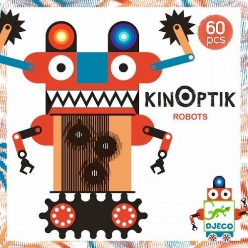 Joc magnetic Kinoptik Djeco, Roboți 0