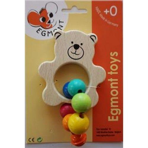 Jucărie bebe Ursuleț cu clopoțel Egmont [0]