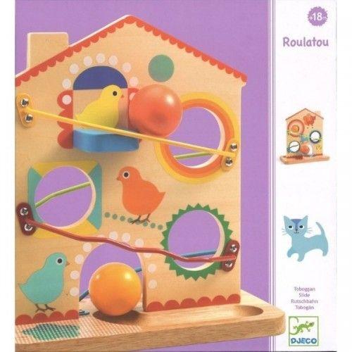 Jucărie cu pantă Roulatou Djeco [0]