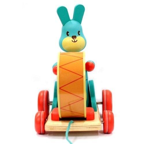 Jucărie de tras iepurașul Bunny boum Djeco [1]
