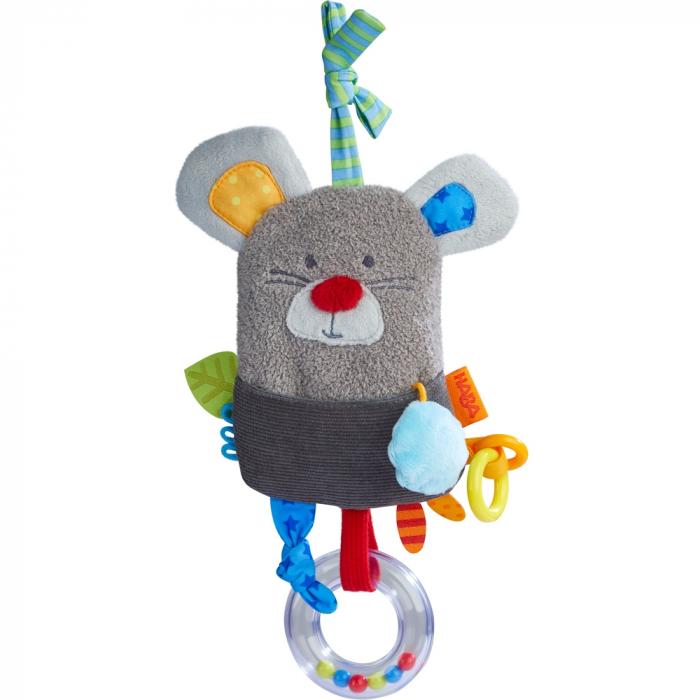 Jucărie zornăitoare de agățat – Șoricel - Haba 0