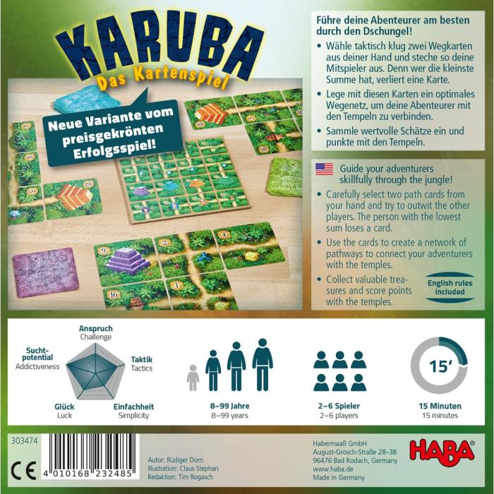 Karuba – jocul de cărți, Haba 1
