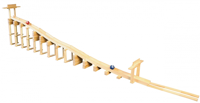 KEVA Contraptions 200 Plank Set, joc de construcție cu piese de lemn 1