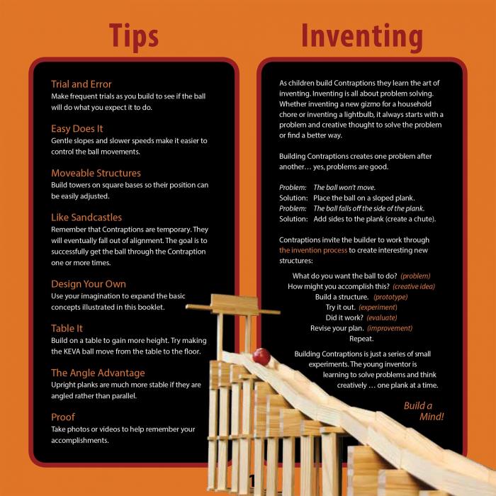 KEVA Contraptions 200 Plank Set, joc de construcție cu piese de lemn 3