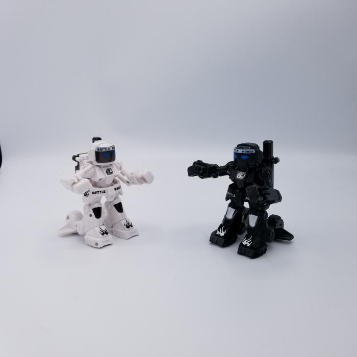 Set de 2 roboți cu telecomandă, pentru copii - KO Bot 5