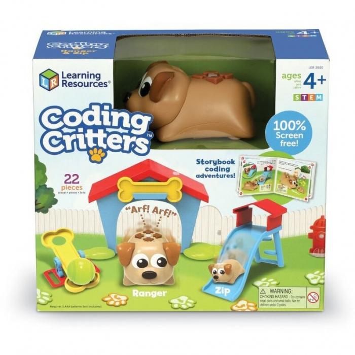 Learning Resources Joc codare - Căţeluşii jucăuşi 0