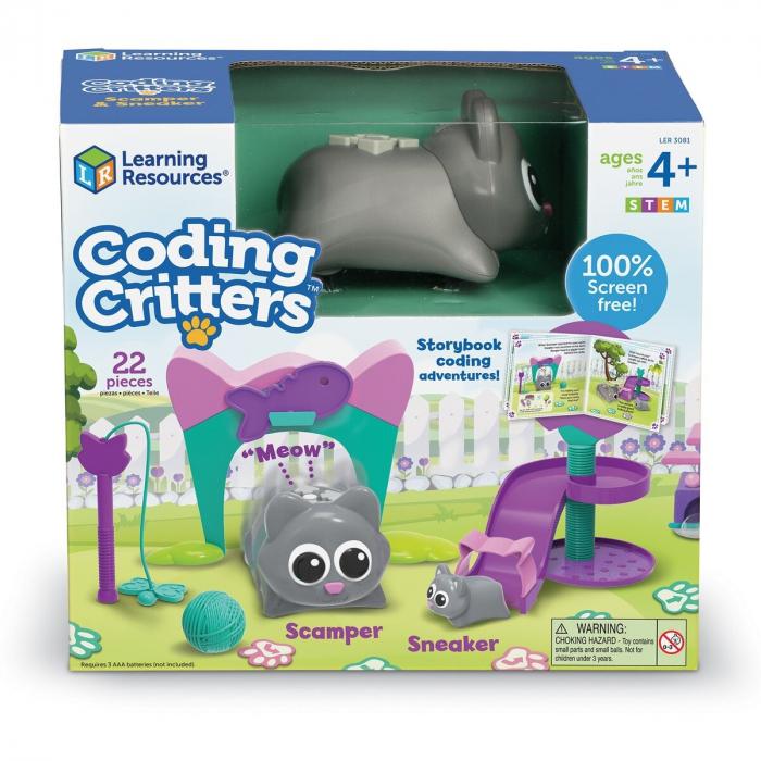 Learning Resources Joc codare - Pisicuţele jucăuşe 0
