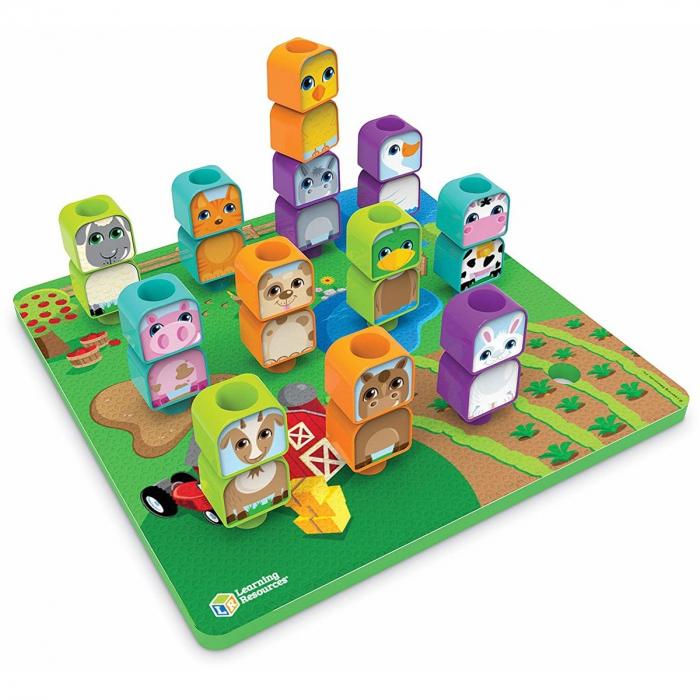 Learning Resources Joc de construcție - Prietenii de la fermă 1
