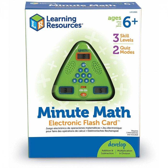 Learning Resources Joc electronic Minute Math 0