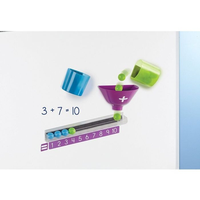 Learning Resources Joc magnetic - Distracție matematică 3