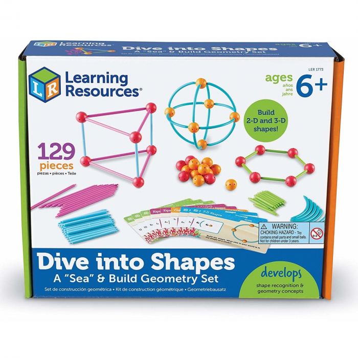 Learning Resources Set construcție - Forme 3D 0