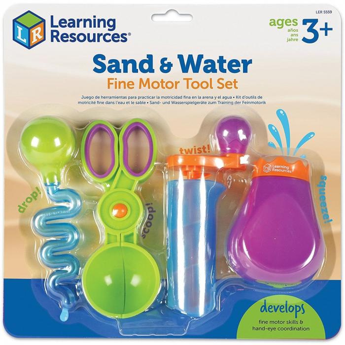 Learning Resources Set ustensile pentru experimente - Apă și Nisip 0