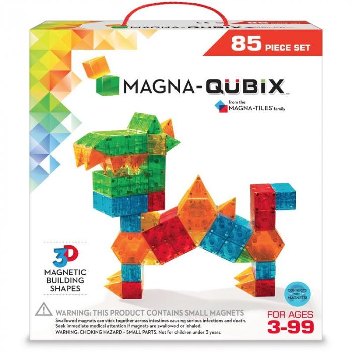 Magna-Qubix set magnetic 85 piese, Magna-tiles 0