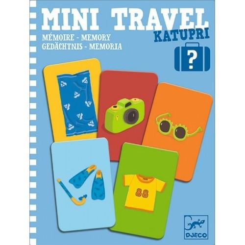 Mini travel Djeco joc de memorie 0
