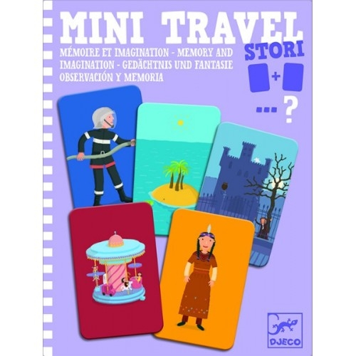 Mini travel Djeco joc de memorie și imaginație 0