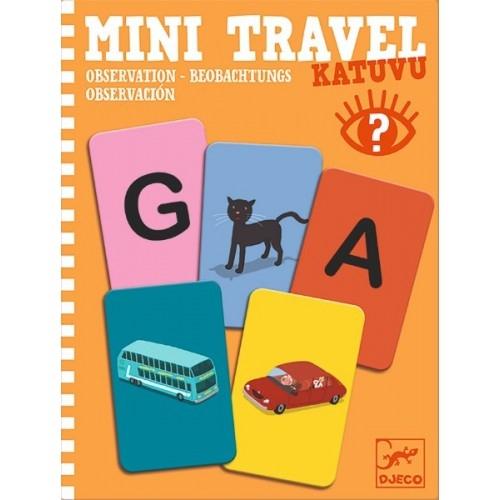 Mini travel Djeco joc de observație 0