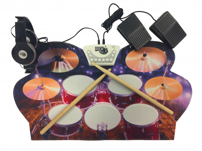 Tobe pentru copii ROCK AND ROLL IT Live drums [4]