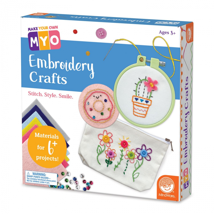 MYO Embroidery Crafts 0