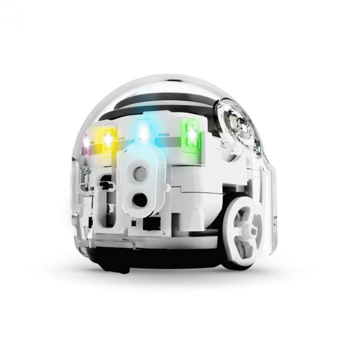 Ozobot Evo smart mini robot - Crystal White:Starter Kit 2
