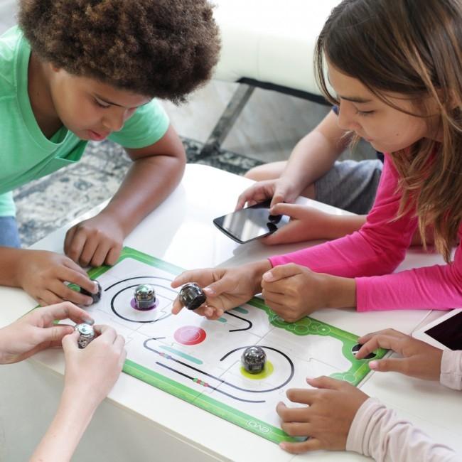Ozobot Evo smart mini robot - Crystal White:Starter Kit 4