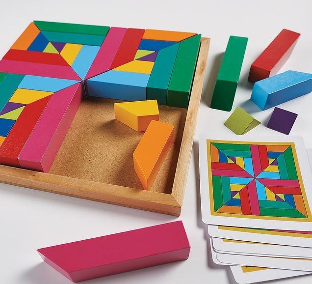 Pattern play - joc de construcție din lemn 2