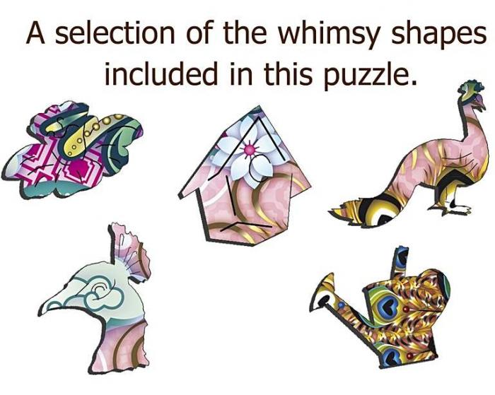 Pavo Bengala, puzzle din lemn - 140 de piese - Wentworth [2]