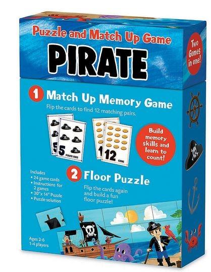 Pirates Match Up Game 1