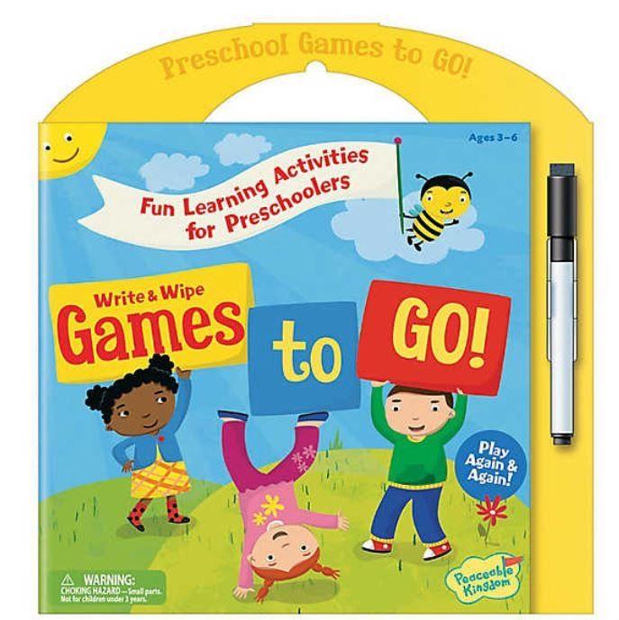 Preschool games to go 0