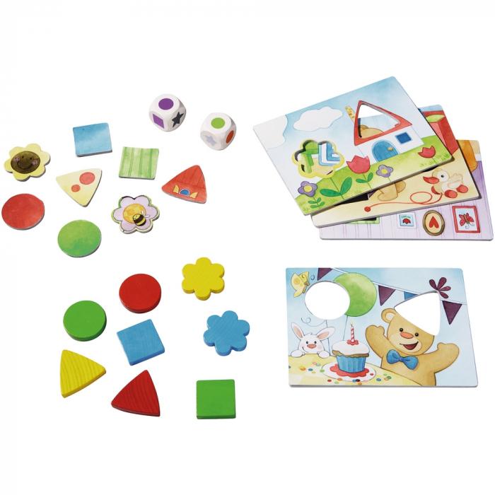 Primele mele jocuri: Învață culorile și formele cu Teddy - Haba 1