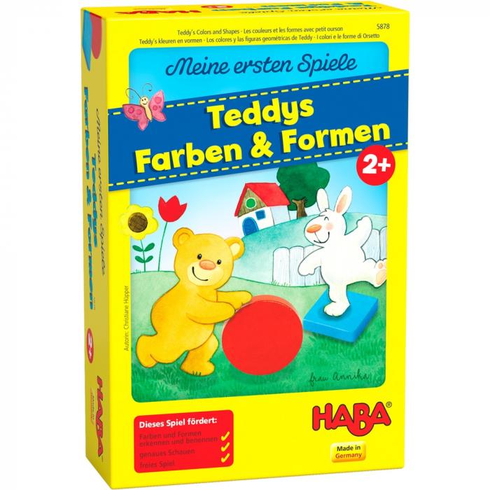 Primele mele jocuri: Învață culorile și formele cu Teddy - Haba 0