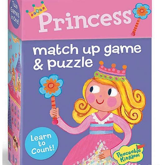 Princess Match Up Game 1