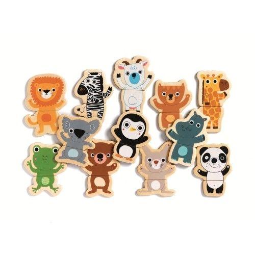Puzzle cu magneți Animale- prietenoase Djeco [1]