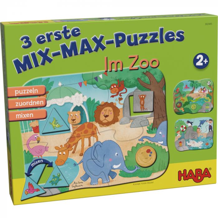 Primele 3 puzzle-uri, La Zoo 0