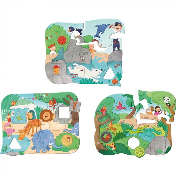Primele 3 puzzle-uri, La Zoo 2