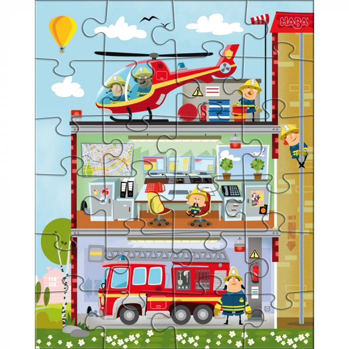 Puzzle Stația de pompieri 2