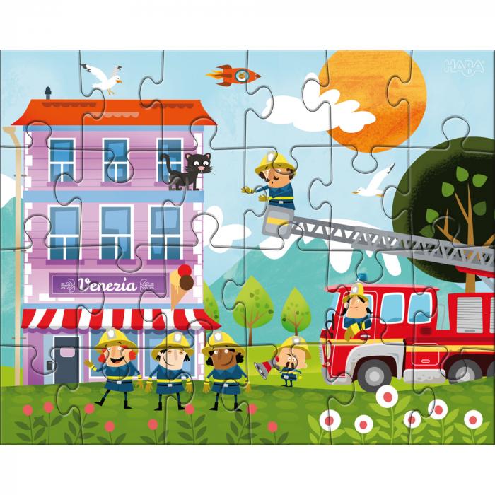 Puzzle Stația de pompieri 3