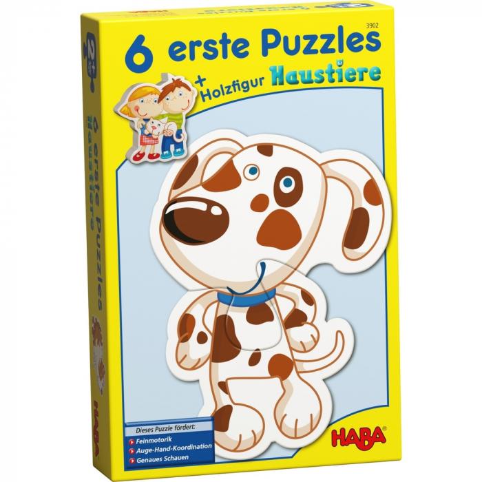 Puzzle-uri cu animale - Haba 0