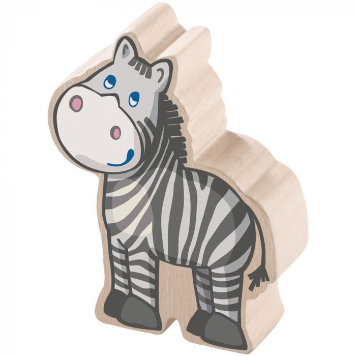 Puzzle-uri cu animale: La zoo - Haba 3