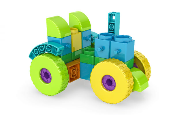 QBOIDZ 4 IN 1 MULTIMODELE (TRACTOR) 2