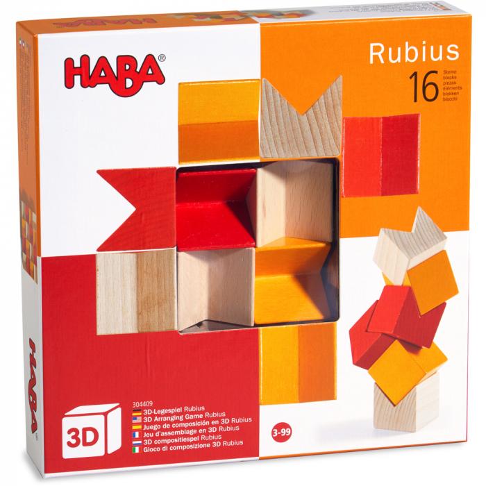 Joc de construcție 3D - Rubius 0